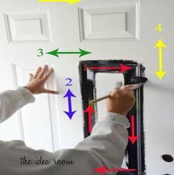 Hướng dẫn cách sửa chữa cửa thép vân gỗ bị hư hỏng cực hiệu quả
