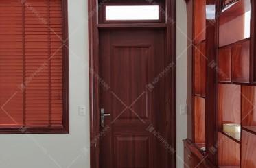 Top 4 mẫu cửa thép vân gỗ được yêu thích nhất hiện nay