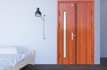 Có hay không nên lắp đặt cửa 2 cánh cho phòng ngủ?