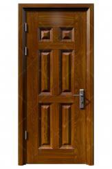 Cửa thép vân gỗ KG-1.04-1