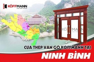 Koffmann - chuyên cung cấp, lắp đặt cửa thép vân gỗ tại Ninh Bình