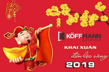 Không khí khai xuân đầu năm Kỷ Hợi 2019 của công ty cổ phần Koffmann Việt Nam