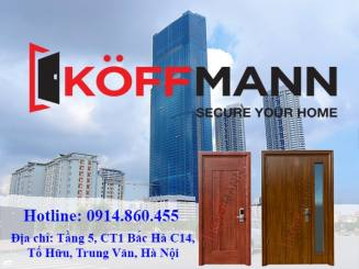 Cửa thép vân gỗ chống cháy nhập khẩu Koffmann có gì đặc biệt?