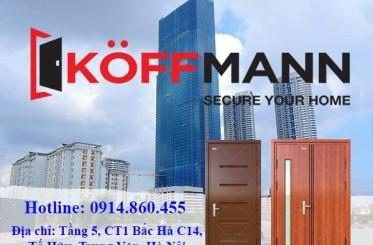 Cửa thép vân gỗ nhập khẩu Koffmann có gì đặc biệt?