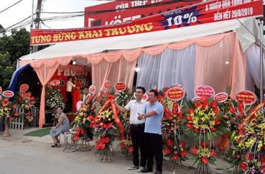 Koffmann khai trương đại lý cửa thép Quang Sang – Hà Nội