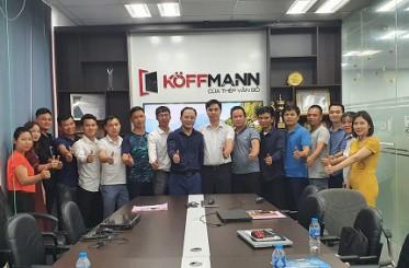 Koffmann Việt Nam đào tạo Marketing cho đại lý 2021
