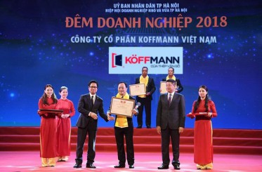 Koffmann vinh dự là nhà tài trợ tại Đêm doanh nghiệp 2018