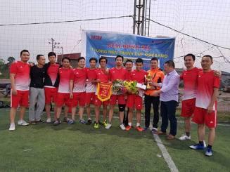 """Trận chung kết và lễ trao giải bóng đá thường niên""""QME&KMD CUP 2018"""