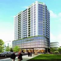 Dự án: Trụ sở công ty TTTM, văn phòng và căn hộ cho thuê