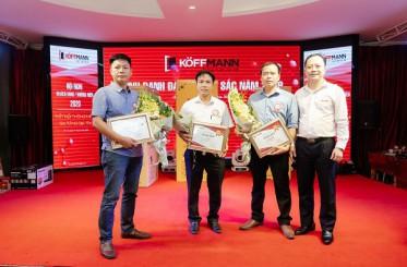 Baoxaydung.com.vn - Koffmann tổ chức tri ân 150 đại lý xuất sắc nhất