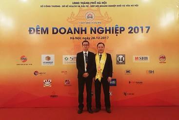 """KOFFMANN vinh dự đón nhận bằng khen tại """"ĐÊM DOANH NGHIỆP 2017"""""""