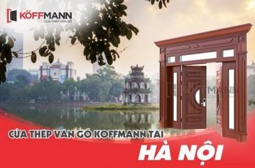 Địa chỉ mua và lắp đặt cửa thép vân gỗ tại Hà Nội đẹp và nhanh nhất