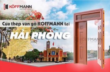 Địa chỉ mua cửa thép vân gỗ tại Hải Phòng UY TÍN, CHẤT LƯỢNG