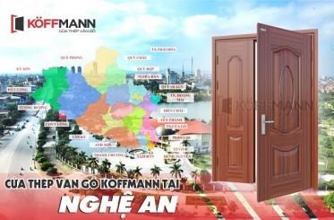 Mua cửa thép vân gỗ tại Nghệ An ở đâu UY TÍN, CHẤT LƯỢNG