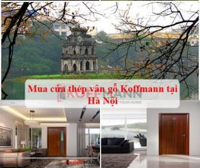 Mua và lắp đặt cửa thép vân gỗ ở Hà Nội đẹp và nhanh nhất