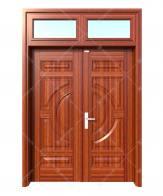 Cửa thép vân gỗ KG-22.01-2TK-1