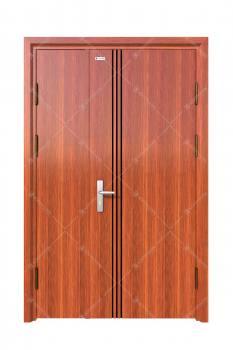 Cửa thép vân gỗ KG-21.8