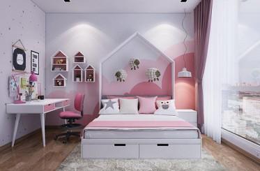 Bí quyết thiết kế phòng ngủ cho bé mang màu sắc hiện đại