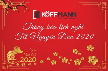 Thông báo lịch nghỉ Tết Nguyên Đán Canh Tý 2020