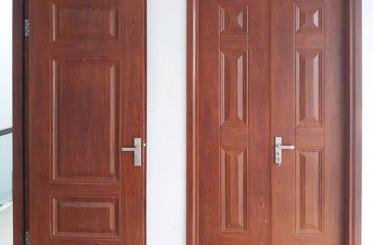 5 tiêu chí hàng đầu khi lựa chọn cửa thép vân gỗ cho ngôi nhà