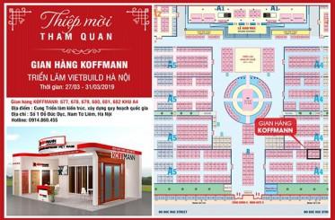 Thư mời tham dự triển lãm Vietbuild Hà Nội tháng 3/2019