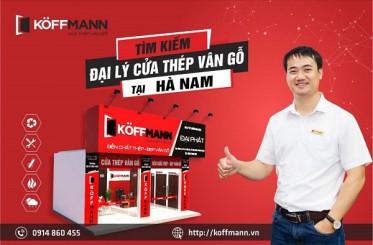 Koffmann tuyển đại lý cửa thép vân gỗ tại Hà Nam