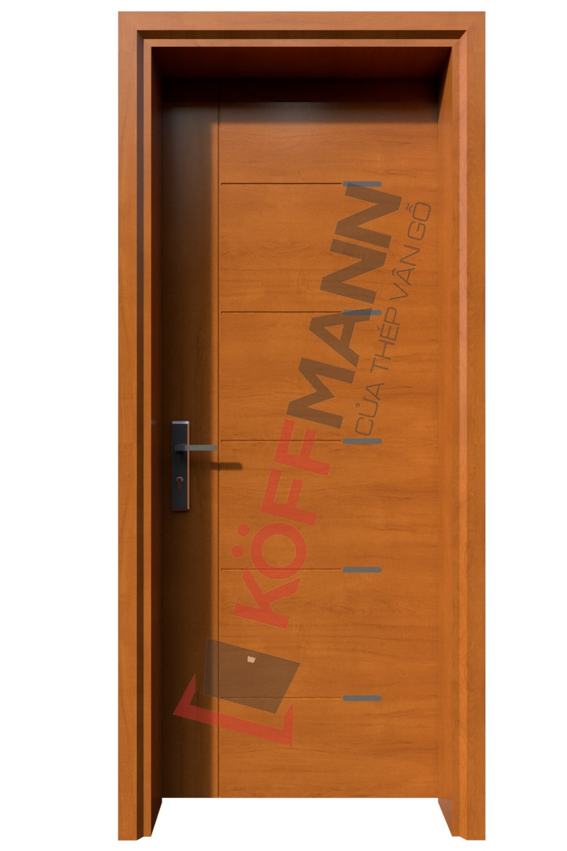 Cửa thép vân gỗ KG-126