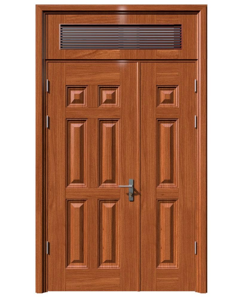 Cửa thép vân gỗ KG-21.04-1NC
