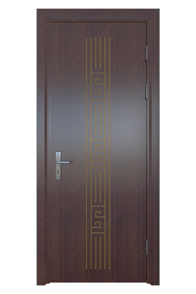 Cửa thép vân gỗ KG-1.30
