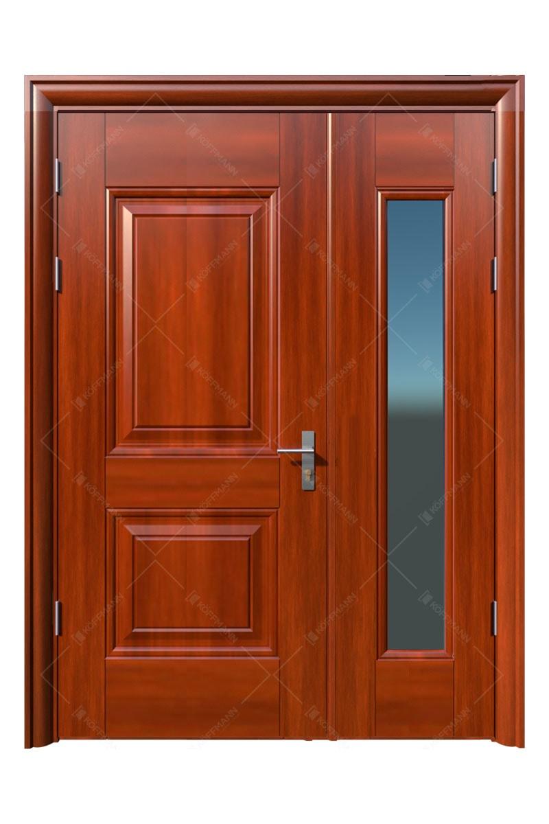 Cửa thép vân gỗ KG-21.06.K