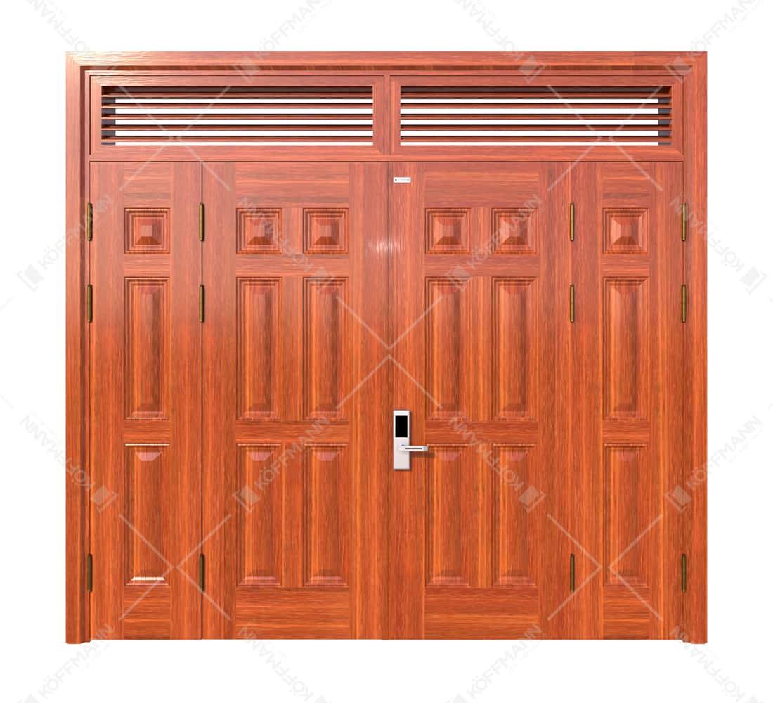 Cửa thép vân gỗ KG-41.04.04A-2NC-1
