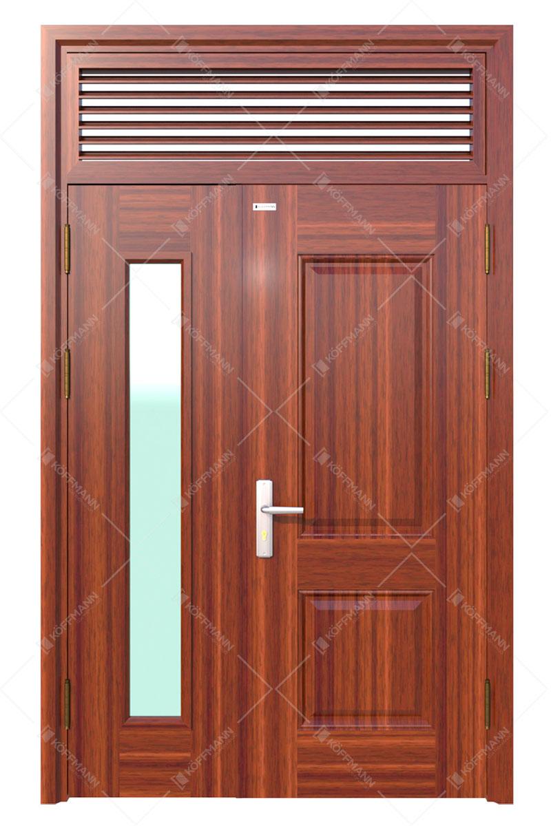 Cửa thép vân gỗ KG-21.06.K-1NC
