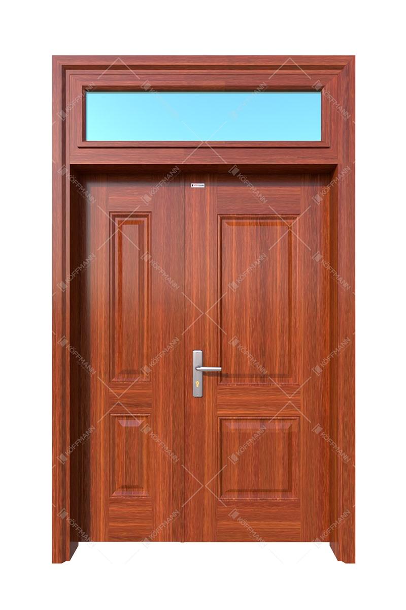 Cửa thép vân gỗ KG21.06-1TK
