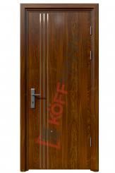 Cửa thép vân gỗ KG-108-1