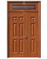 Cửa thép vân gỗ KG-21.04-1TK