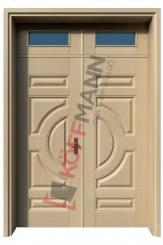 Cửa thép vân gỗ KG-22.01-2TK-2