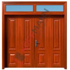 Cửa thép vân gỗ KG42.CS2-2TK