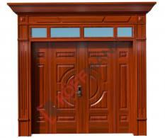 Cửa thép vân gỗ Luxury KL-41.01.03-4TK-PN