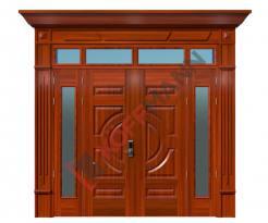 Cửa thép vân gỗ Luxury KL-41.01.K-4TK-PT