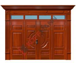 Cửa thép vân gỗ Luxury KL-42.01.03-4TK-PT