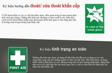 Các loại ký hiệu an toàn bạn nên biết【Infographic】