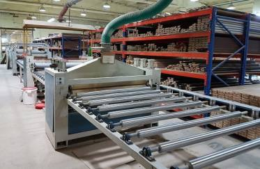Công nghệ nào được sử dụng để sản xuất cửa thép vân gỗ Koffmann