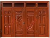 Cửa thép vân gỗ KG-421T