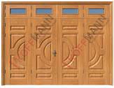 Cửa thép vân gỗ KG-421TK