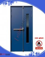 Tìm hiểu về các tiêu chuẩn cửa thép chống cháy 60, 90 và 120 phút