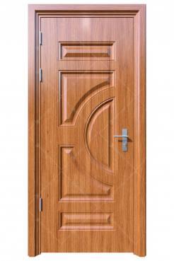 Cửa thép vân gỗ KG-1.01-1