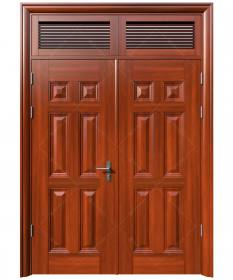 Cửa thép vân gỗ KG-22.04-2NC