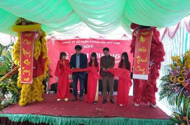 Koffmann khai trương đại lý cửa thép vân gỗ cấp 2 Mạnh Hoa tại Bắc Ninh