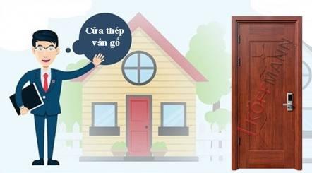 Cửa lõi thép vân gỗ có phải là sự lựa chọn tốt nhất?