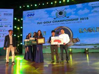 KOFFMANN tài trợ 500 triệu đồng cho giải GOLF FLC CHAMPIONSHIP 2018